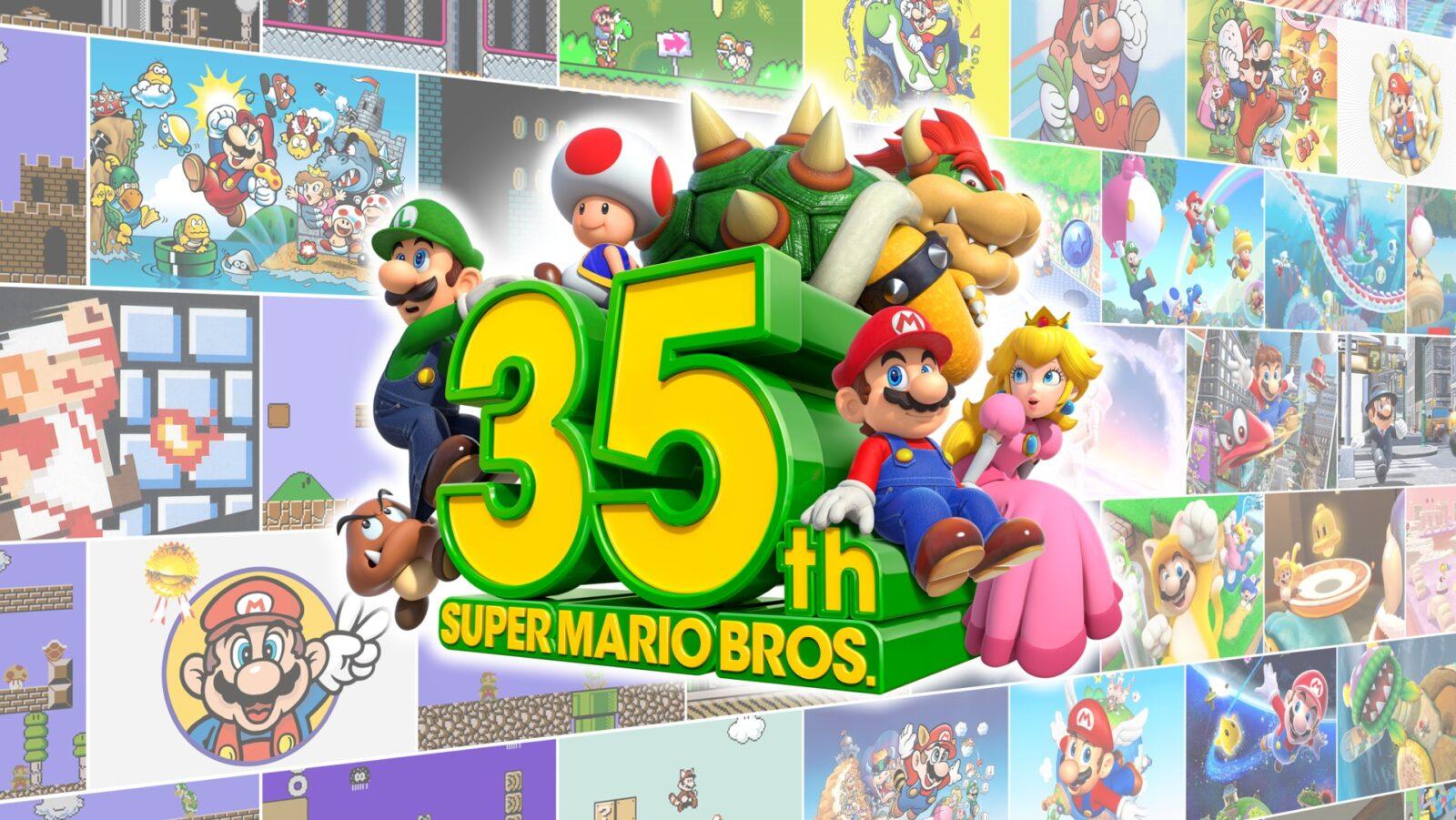 Super Mario Bros 35th Anniversary
