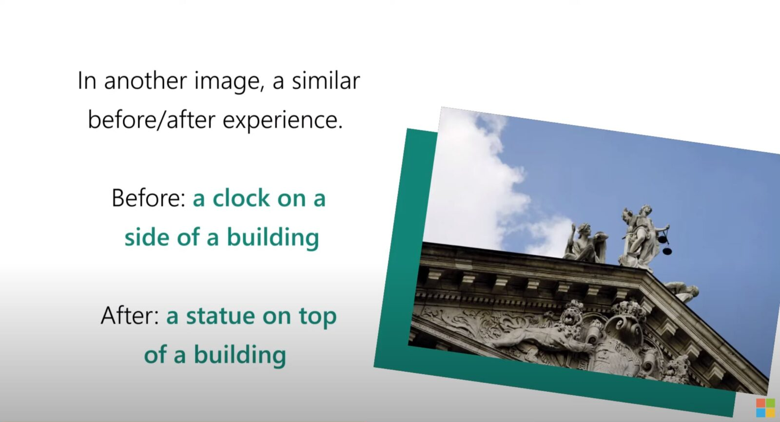 Reconhecimento de imagem Microsoft