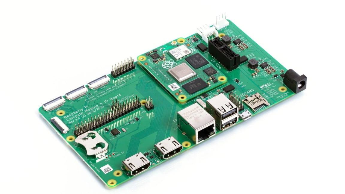 Raspberry Compute Module 4 IO Board