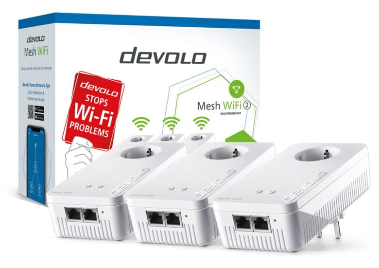 devolo Mesh WiFi 2 Multiroom Kit-X2