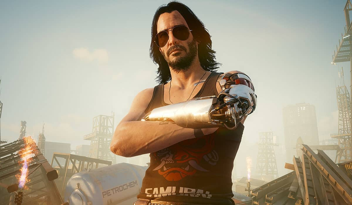 Cyberpunk 2077 johnny-silverhand