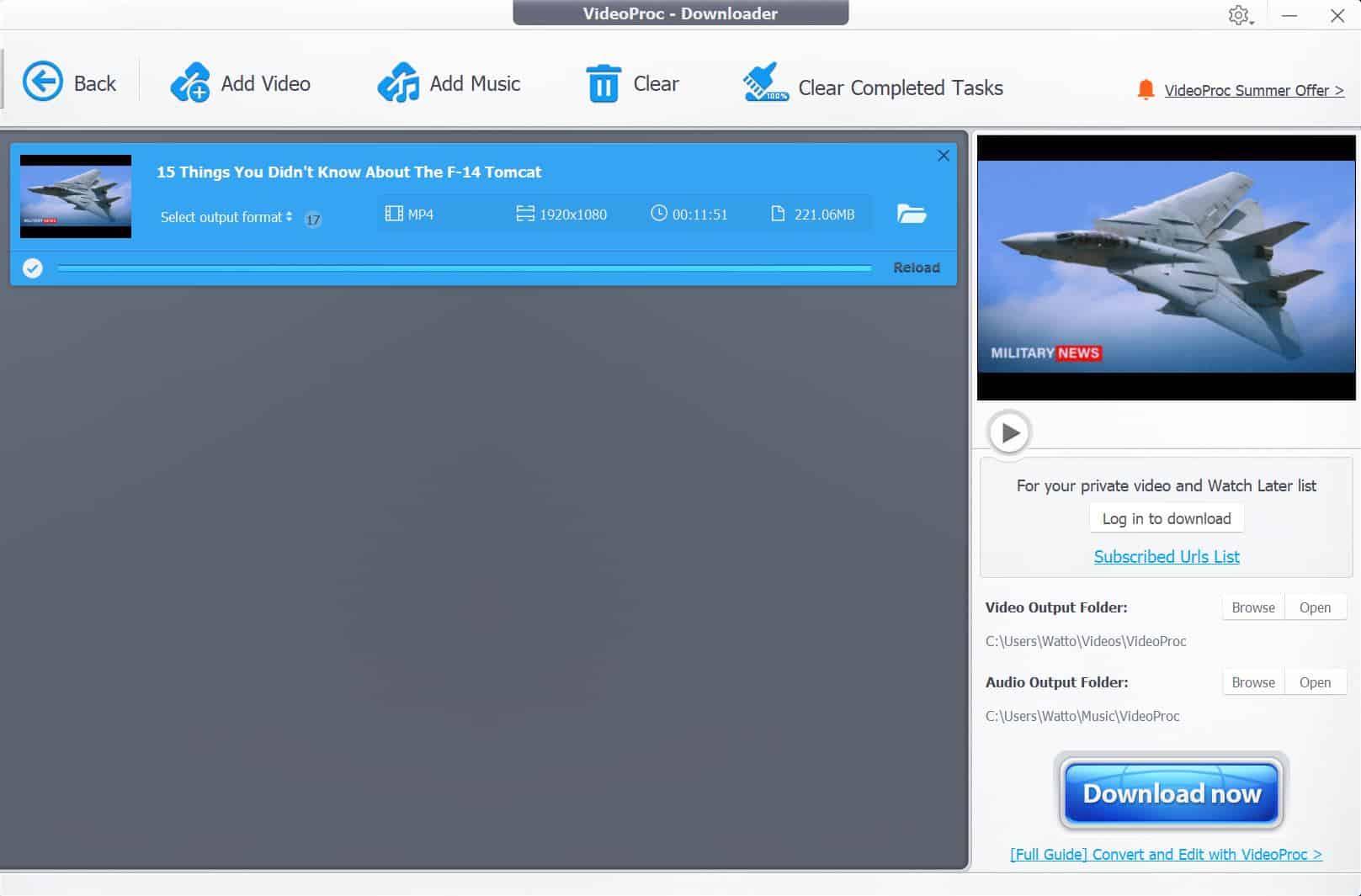 Download VideoProc